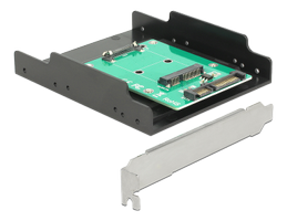 "Converter SATA 22 pin >mSATA with Slot Bracket +3.5""Frame"