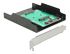 "DELOCK Converter SATA 22 pin >mSATA with Slot Bracket +3.5""Frame"