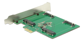 PCI Express Card>2x internal mSATA