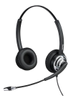 DELTACO Mairdi stereo headset, noise cancelling,  2,5m, USB, black