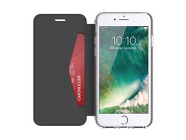 GRIFFIN iPhone 7_ 6/6s Reveal Wallet Black/ Clear (GB42753)