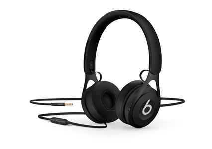 APPLE Beats EP On-Ear Headphones - Black (ML992ZM/A)