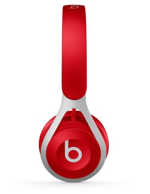 BEATS EP ON-EAR HEADPHONES RED IN