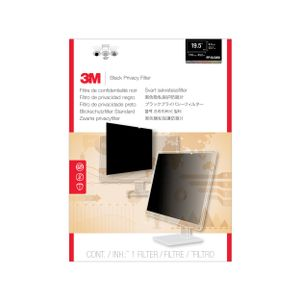 3M PF19.5W9 PRIVACY FILTER BLACK FOR 19.5IN / 49.5 CM / 16:9 (7100036575)