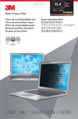 Privacy filter for laptop 15,4'' widescreen
