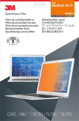 Privacy filter for MacBook Air 13'' gold