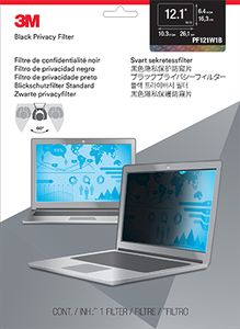 3M Privacy filter for laptop 12,1'' widescreen (7000013834)