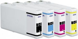 EPSON cartridge XXL cyan for WP 4000/4500 3400 pages WP-4015DN WP-4025DW WP-4515DN WP-4525DNF WP-4535DWF WP-4545DTWF (C13T70124010)