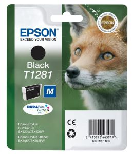 EPSON T128 Ink Color Stylus Office Black Stylus S22/ SX125/ SX420/ BX305F (C13T12814011)