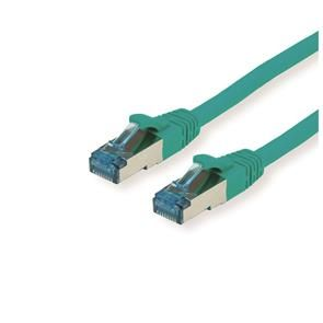 GOOBAY S/FTP (PiMF) PatchCord Cat6a. Green. 0.25m Factory Sealed (94140)