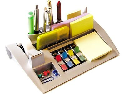 3M Bordställ POST-IT Organizer C50 silver (3700197)