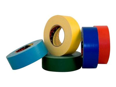3M Tape Textil 50mx50mm rød (XT003407803)