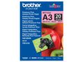 BROTHER BP-71GA3 PHOTO PAPER DINA3 260G/M2 20SHTS SUPL