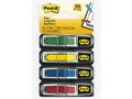 POST-IT POST-IT® Index 684 piler 5 farger