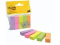 POST-IT Index POST-IT  670-5 5-farve 15x50mm