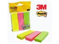 POST-IT Index POST-IT  3 farver 25x76mm