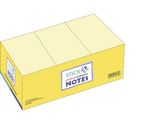 Notes Stick'n Notes 38x51mm gul / GENERIC BRANDS (3700128*12)