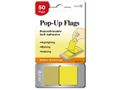 EMO Index Pop-up flags 45x25mm lemon 50bl