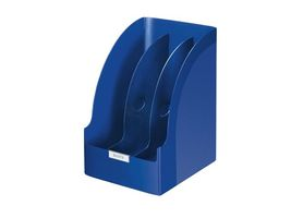 Magazine File Plus jumbo With Divider , Blue