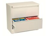 ESSELTE Filing cabinet Lateral A4 2 drawerWhite