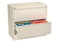 ESSELTE Filing cabinet Lateral A4 2 drawerWhite (94920)
