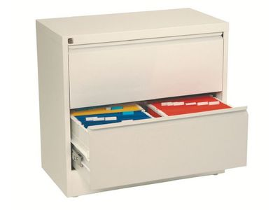 ESSELTE Filing cabinet Lateral A4 2 drawer White (94920)