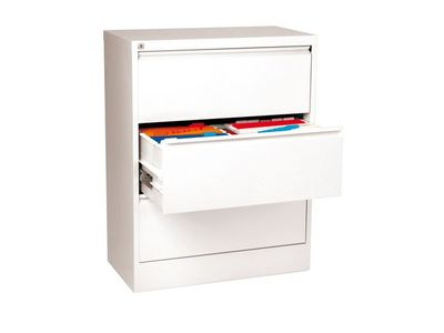 ESSELTE Filing cabinet Lateral A4 3 drawerWhite (94921)