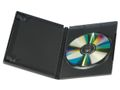 EMO CD-/DVD-Case DELTACO Sort 5/pk.