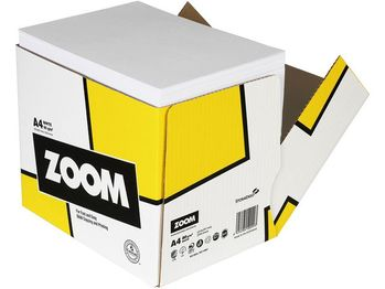ZOOM Paper Copy XPR A4 80g UnPunched 2500 ARK (172100)