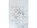 Presentpapper 57cmx100m Dotted Hearts / HEDLUNDS (M16224-57)