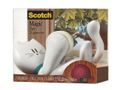 SCOTCH Tejphållare katt 1 rle 19mm x 8,89m
