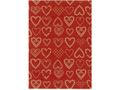 Presentpapper 57cmx154m Dotted Hearts / HEDLUNDS (BR16221-57)