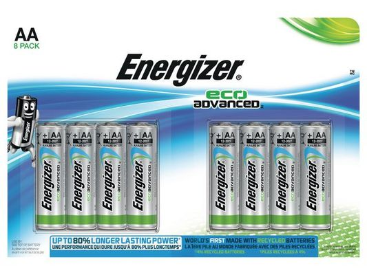 ENERGIZER AA/LR6 Eco Adv. 8-pack