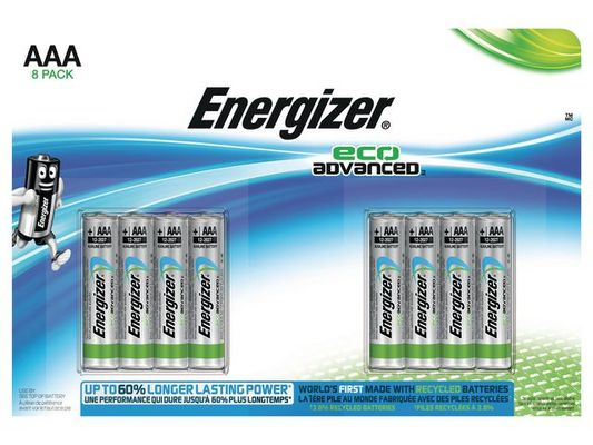 ENERGIZER AAA/LR03 Eco Adv. 8-pack