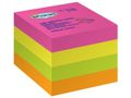 STAPLES Notes kub STAPLES 76x76 mm rainbow 400bl