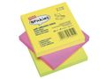 STAPLES Notes STAPLES 76x76mm neon