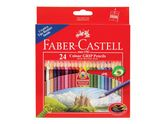 Färgpenna Tri Color Pencil Long 24/fp / FABER-CASTELL (115855)