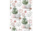 Julpapper 57cmx154m Pinetree / HEDLUNDS (16401-57)