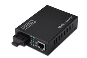 MEDIA CONV SINGLEM UP TO 10KM 10/ 100/ 1000BASE-T TO 1000BASE-LX IN ACCS