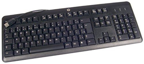 HP USB Keyboard for PC - German Factory Sealed (672647-043)