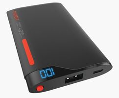 Cygnett ChargeUp Lithium Polymer Powerbank Digital 4000mAh Red/Grey