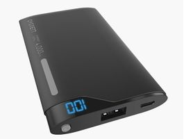 CYGNETT ChargeUp Lithium Polymer Powerbank Digital 4000mAh Black/ Grey (CY1997PBCHE)