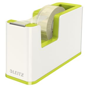 LEITZ Tape dispenser w/tape WOW white/ green (53641064*3)