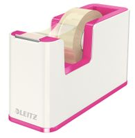 Tape dispenser w/tape WOW white/ pink