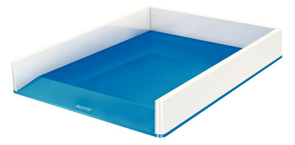 Letter tray WOW white/ blue