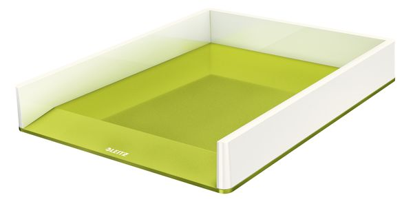 Letter tray WOW white/ green