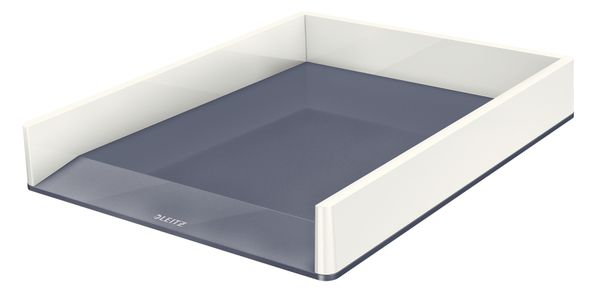 Letter tray WOW white/ grey