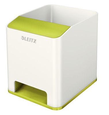 Pen holder Sound WOW white/ green