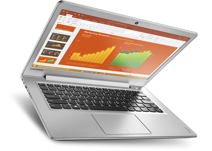 "IdeaPad 510s 13.3"" FHD matt Core i5-6200U, 4GB RAM, 256GB SSD, Windows 10 Home"