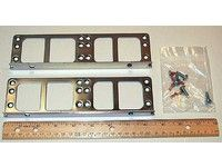 Rack mount kit - Includes two rack ears, six screw / New